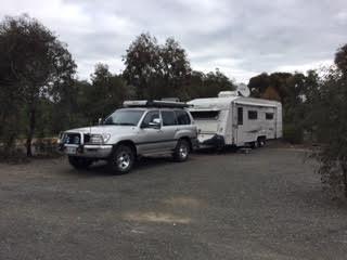 Anita Roberts' caravan is one of 60 coming to Tumut.